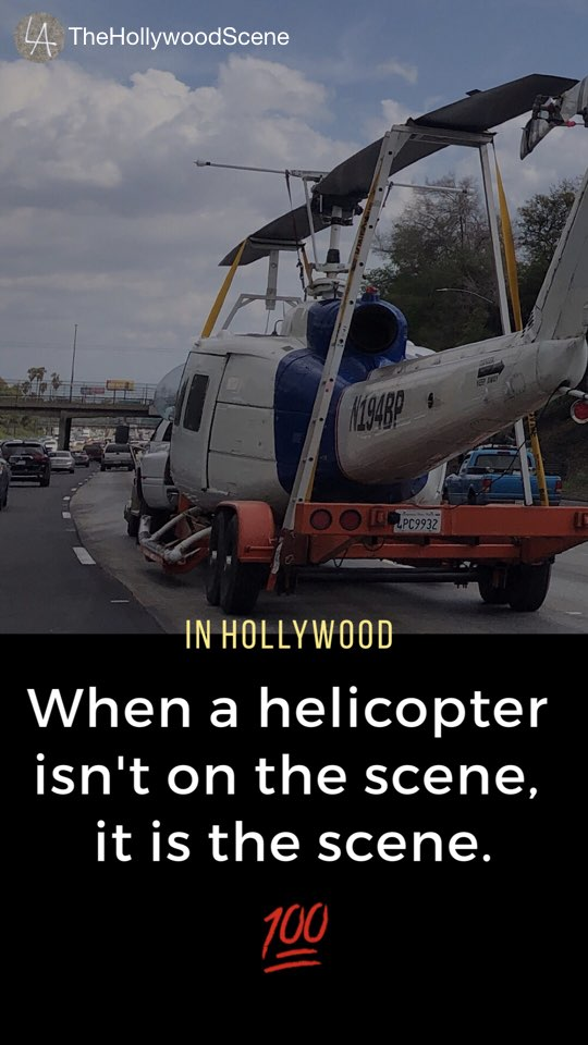 Helicopter / scene